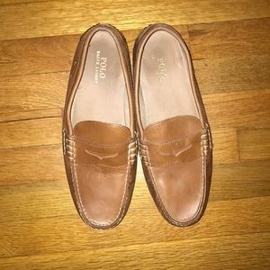 Polo penny loafers